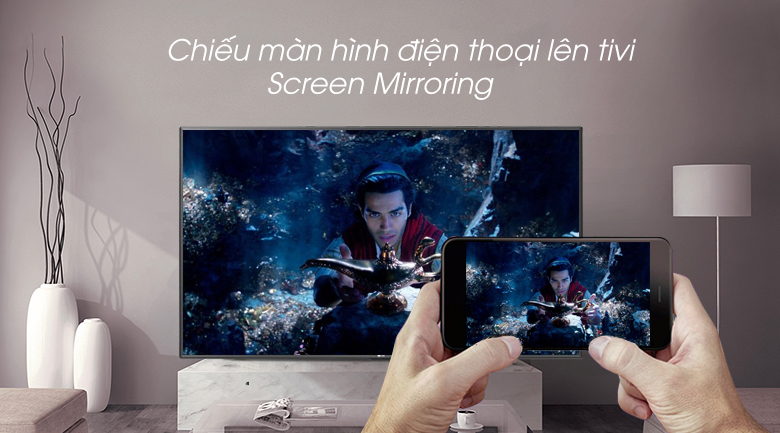 Smart Tivi LG 4K 43 inch 43UM7600PTA - Screen Mirroring