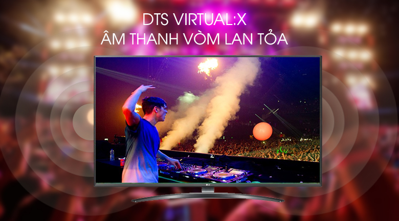 Smart Tivi LG 4K 43 inch 43UM7600PTA - DTS Virtual:X